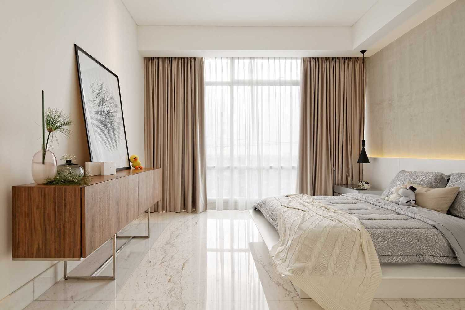 Sontani Partners 11A Residence South Jakarta, Indonesia South Jakarta, Indonesia Bedroom Kontemporer,industrial,wood,modern 21401