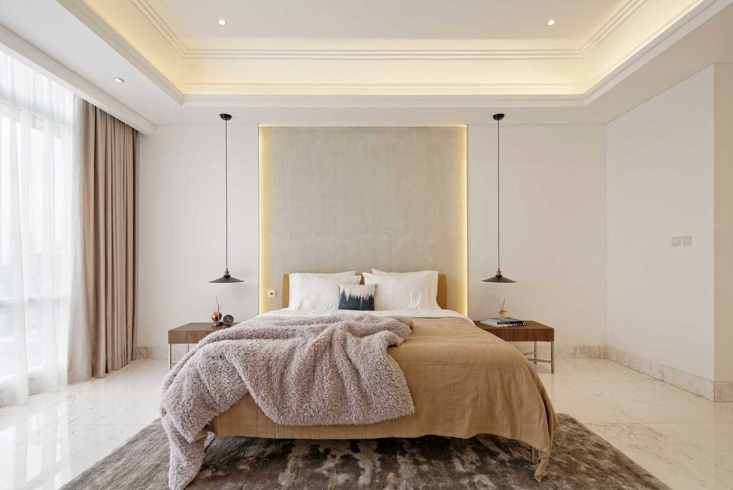 Sontani Partners 11A Residence South Jakarta, Indonesia South Jakarta, Indonesia Master Bedroom Kontemporer,industrial,wood,modern 21404
