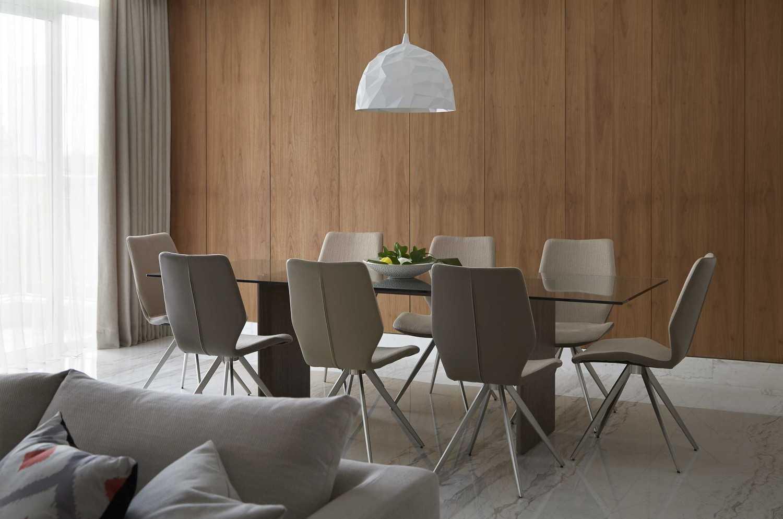 Sontani Partners 2E Residence South Jakarta South Jakarta Dining Room Kontemporer,industrial,tropis,wood,modern 21433