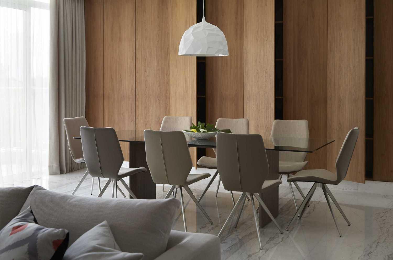 Sontani Partners 2E Residence South Jakarta South Jakarta Dining Room Kontemporer,industrial,tropis,wood,modern 21434