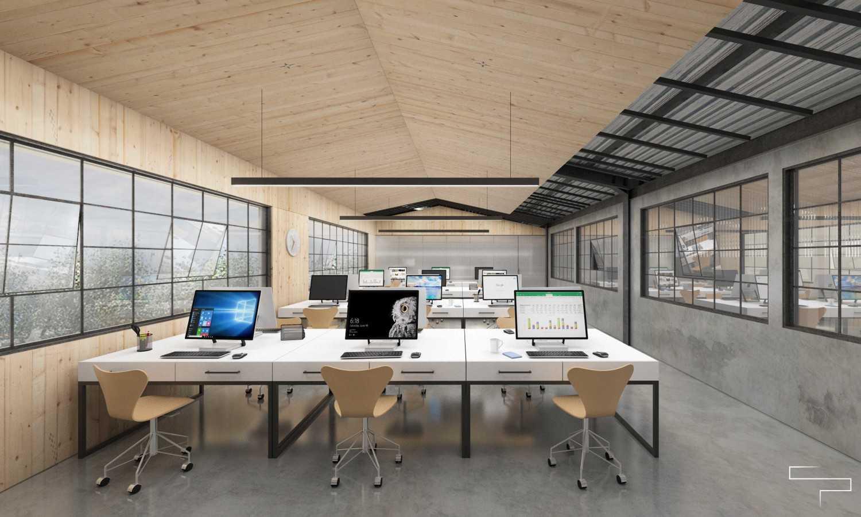 Sontani Partners Abc Office Kamal, North Jakarta Kamal, North Jakarta Working Area Industrial,kontemporer,wood,modern 23374