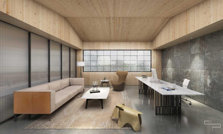 Sontani Partners Abc Office Kamal, North Jakarta Kamal, North Jakarta Director Room Industrial,kontemporer,wood,modern 23375