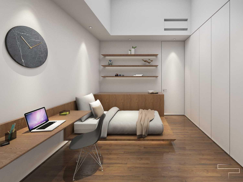 Foto inspirasi ide desain kamar tidur anak minimalis Kids room 3 oleh Sontani Partners di Arsitag