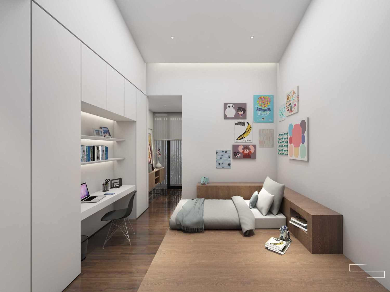 Foto inspirasi ide desain kamar tidur minimalis Kids room 2 oleh Sontani Partners di Arsitag