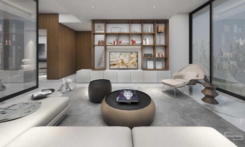 Sontani Partners Guru Mughni Residence Mega Kuningan, Jakarta Mega Kuningan, Jakarta Living Room  23388
