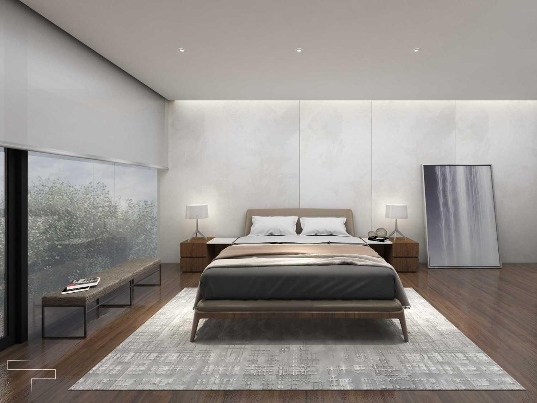Sontani Partners Guru Mughni Residence Mega Kuningan, Jakarta Mega Kuningan, Jakarta Master Bedroom Kontemporer,modern 23391