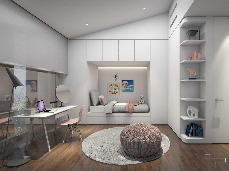 Sontani Partners Guru Mughni Residence Mega Kuningan, Jakarta Mega Kuningan, Jakarta Kids Room 1 Kontemporer,modern 23395