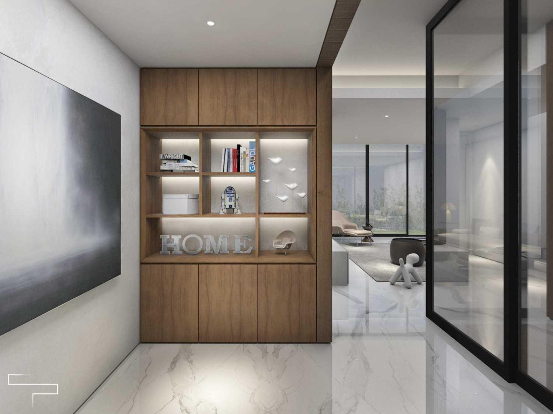 Sontani Partners Guru Mughni Residence Mega Kuningan, Jakarta Mega Kuningan, Jakarta Study Room Kontemporer,modern 23397
