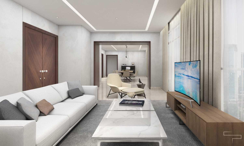 Sontani Partners 9B Residence Pakubuwono  Pakubuwono  Living Room Kontemporer,wood,modern 27619
