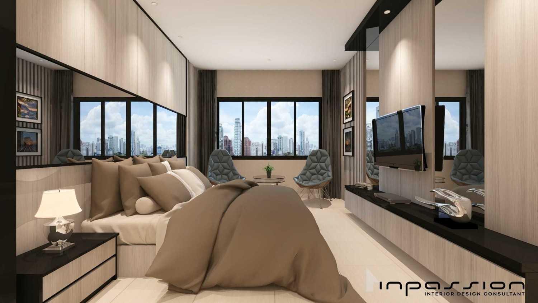 Inpassion Interior Design Apartment Surabaya City, East Java, Indonesia Jakarta Bedroom Minimalis,modern 22169