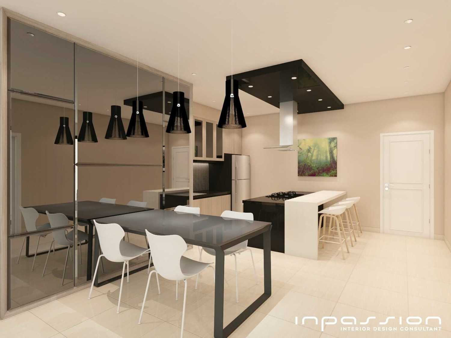 Inpassion Interior Design Kitchenset Design Surabaya Surabaya Kitchen And Dining Area Kontemporer 22158