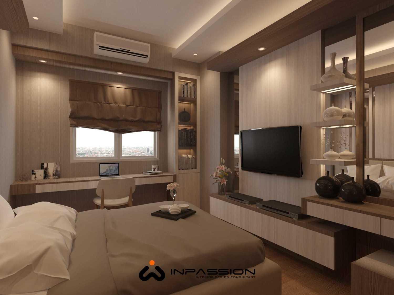 Inpassion Interior Design Apartemen Puncak Dharmahusada Surabaya - Mr. Julius Surabaya, Kota Sby, Jawa Timur, Indonesia Surabaya, Kota Sby, Jawa Timur, Indonesia Bedroom View  50367