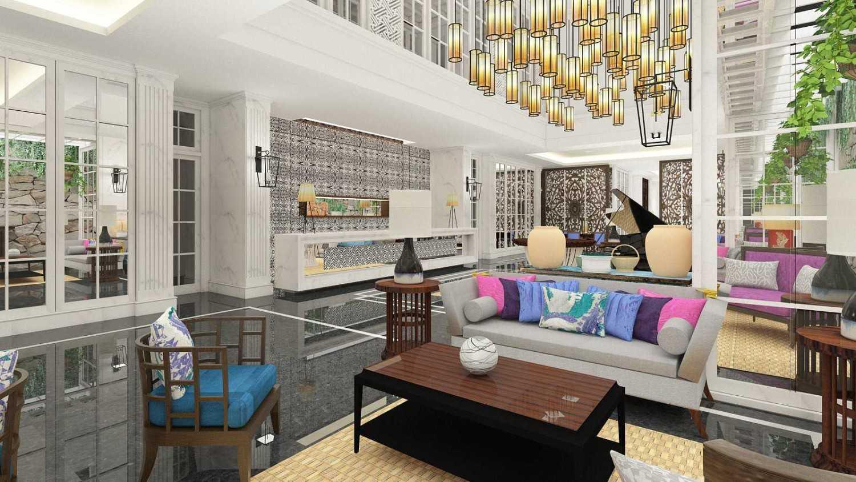 Foto inspirasi ide desain lobby kontemporer Lobby oleh PT. GARISPRADA di Arsitag