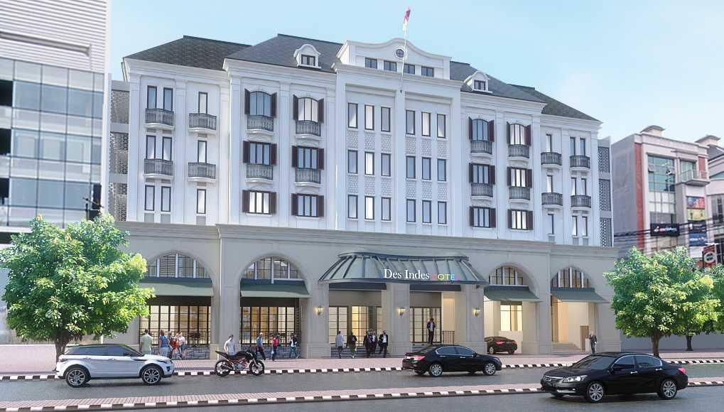 Foto inspirasi ide desain exterior klasik Front view oleh PT. GARISPRADA di Arsitag
