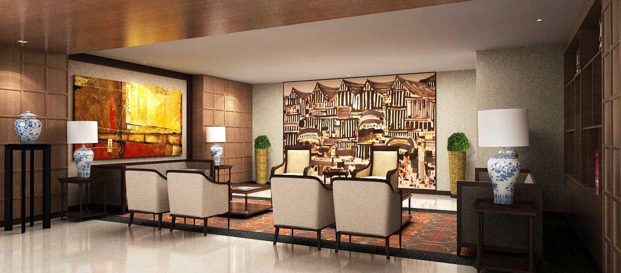 Foto inspirasi ide desain ruang meeting klasik Chairman-guest oleh PT. GARISPRADA di Arsitag