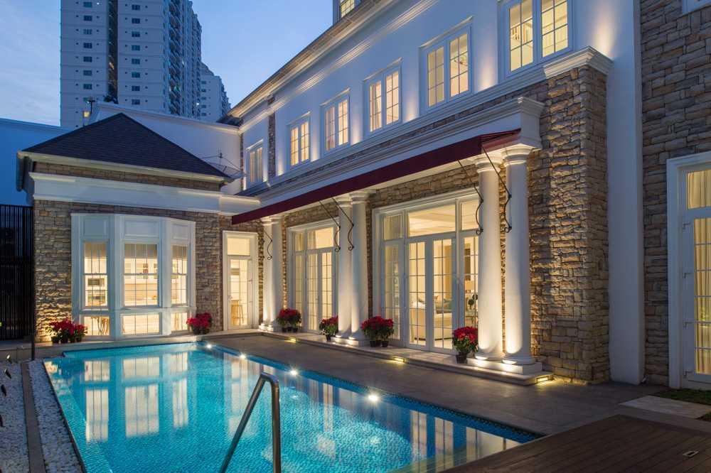 Monoarch Rumah Tinggal Permata Hijau Permata Hijau, Jakarta Permata Hijau, Jakarta Swimming Pool Area Klasik 21829