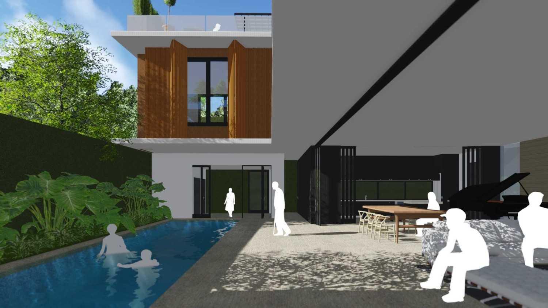 Monoarch Rumah Tinggal Tebet Tebet, Kota Jakarta Selatan, Daerah Khusus Ibukota Jakarta, Indonesia Tebet, Kota Jakarta Selatan, Daerah Khusus Ibukota Jakarta, Indonesia Living Space & Pool Modern,minimalis 39137