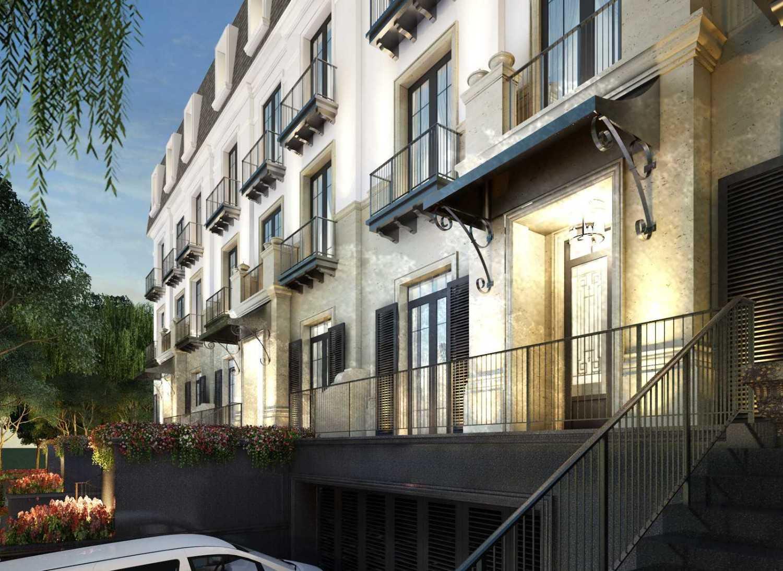Foto inspirasi ide desain apartemen klasik Exterior oleh Monoarch di Arsitag