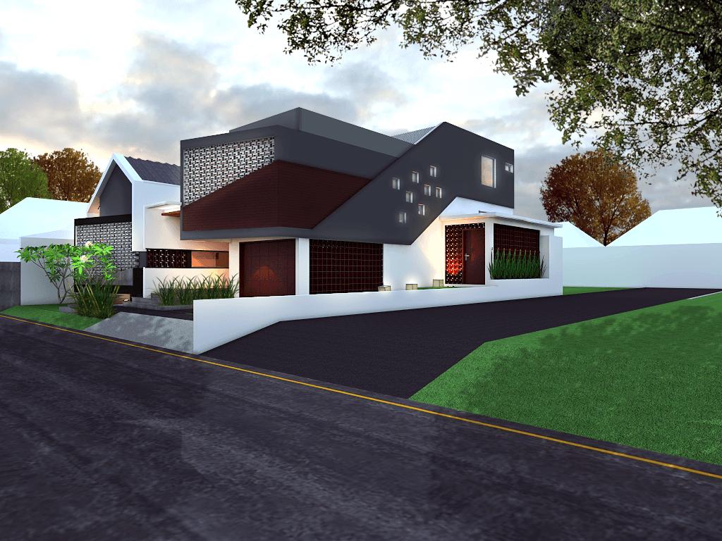 Studio Mifanolu Rumah Stm 2 Medan Medan Side View Kontemporer 26389