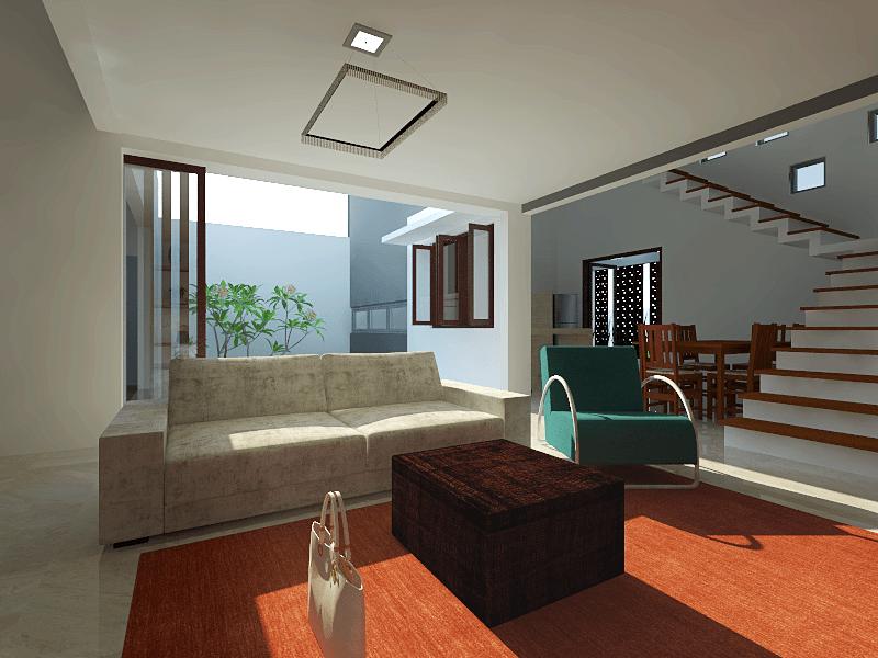 Studio Mifanolu Rumah Stm 2 Medan Medan Ruang-Keluarga Kontemporer 26390