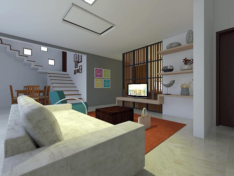 Studio Mifanolu Rumah Stm 2 Medan Medan Ruang-Keluarga Kontemporer 26391