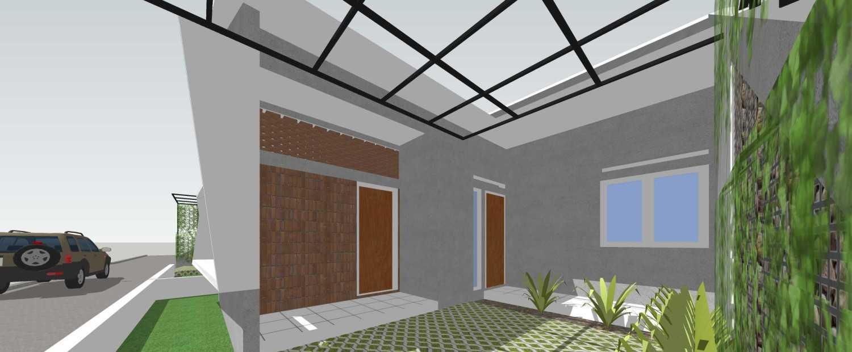 Foto inspirasi ide desain garasi tropis Garage oleh Studio Mifanolu di Arsitag