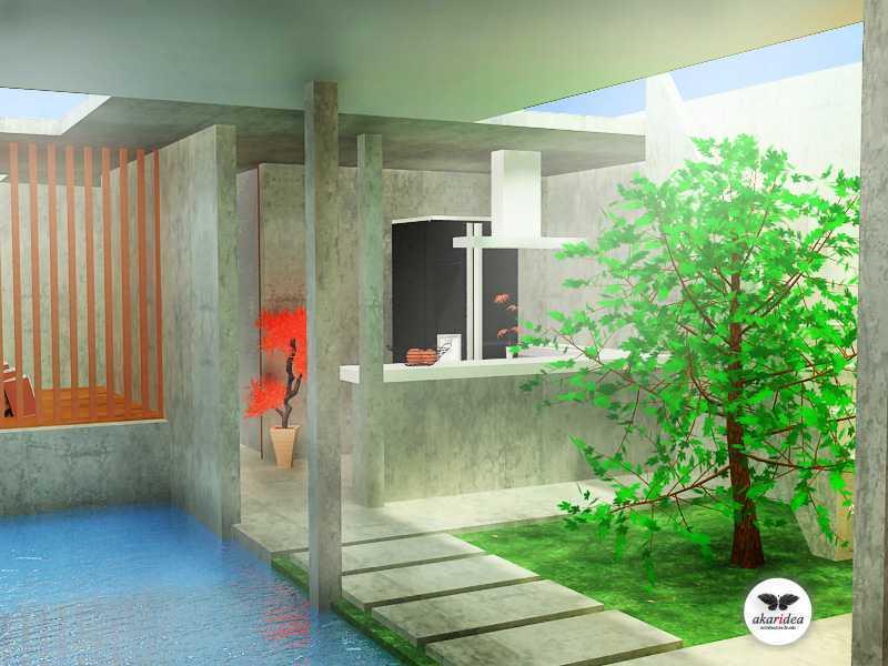 Antoni Winata Joglo House Kavling Dki, Joglo, Jakarta Barat Kavling Dki, Joglo, Jakarta Barat Area Kontemporer,tropis 23109