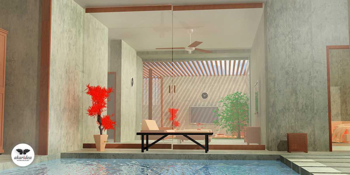 Antoni Winata Joglo House Kavling Dki, Joglo, Jakarta Barat Kavling Dki, Joglo, Jakarta Barat Living Room Kontemporer,tropis,wood 23113