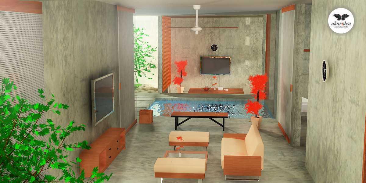 Antoni Winata Joglo House Kavling Dki, Joglo, Jakarta Barat Kavling Dki, Joglo, Jakarta Barat Living Kontemporer,tropis,wood 23117