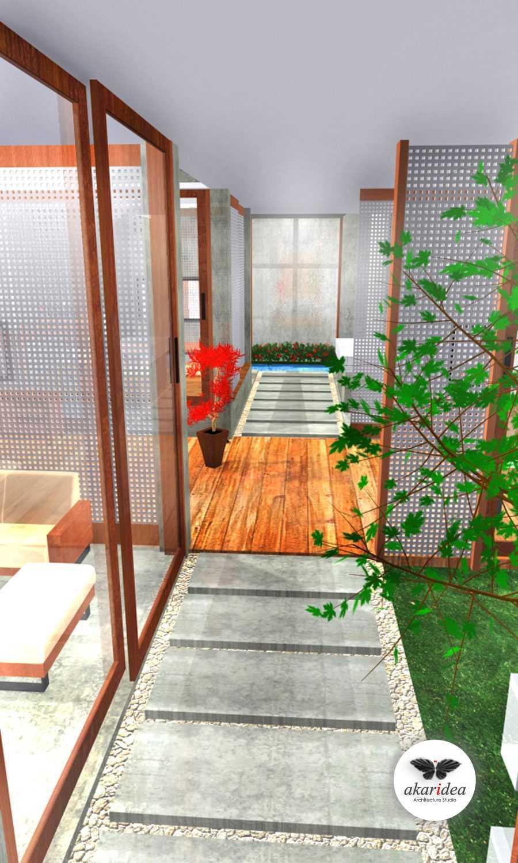 Foto inspirasi ide desain koridor dan lorong tropis Corridor oleh Antoni Winata di Arsitag