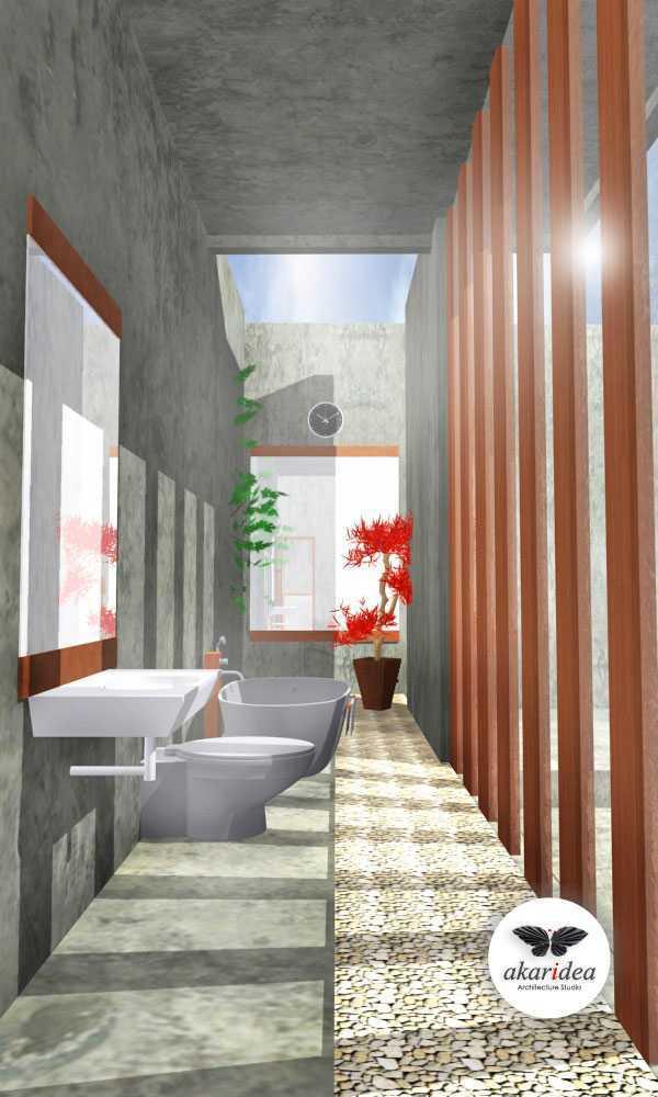 Antoni Winata Satria House Daan Mogot, Satria, West Jakarta Daan Mogot, Satria, West Jakarta Bathroom Kontemporer,tropis,modern 23143