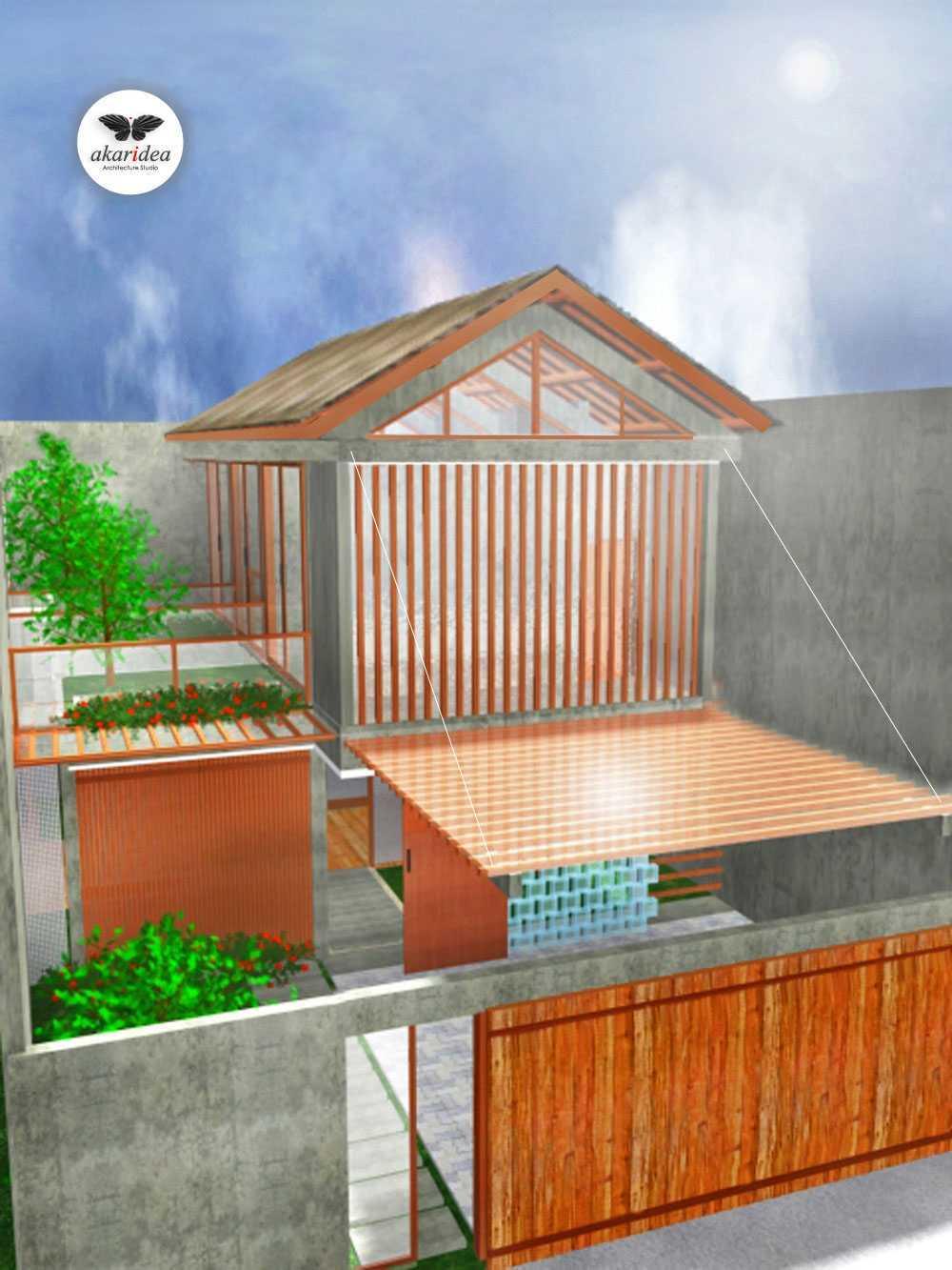 Antoni Winata Satria House Daan Mogot, Satria, West Jakarta Daan Mogot, Satria, West Jakarta Front Facade Kontemporer,tropis,wood,modern 23144