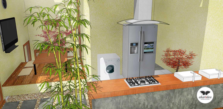 Foto inspirasi ide desain dapur tropis Kitchen oleh Antoni Winata di Arsitag