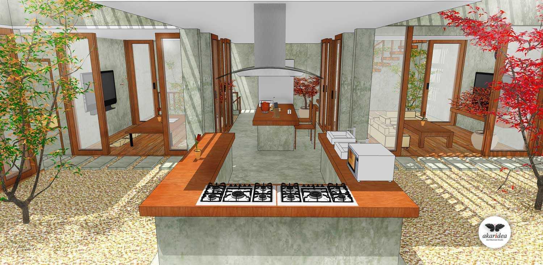 Foto inspirasi ide desain dapur tropis Kitchen & pantry oleh Antoni Winata di Arsitag