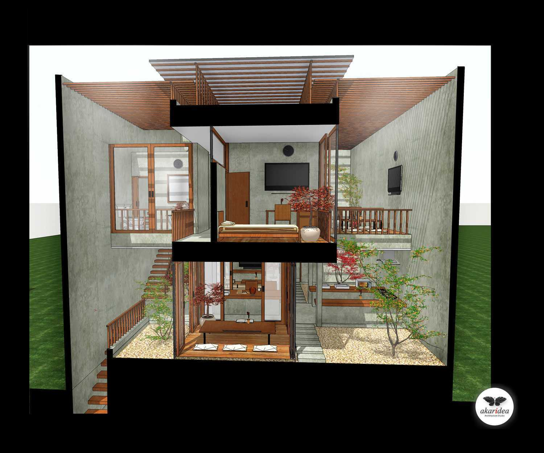 Antoni Winata Meruya House Meruya, West Jakarta Meruya, West Jakarta Section Kontemporer,tropis,modern,minimalis,industrial,wood 23214