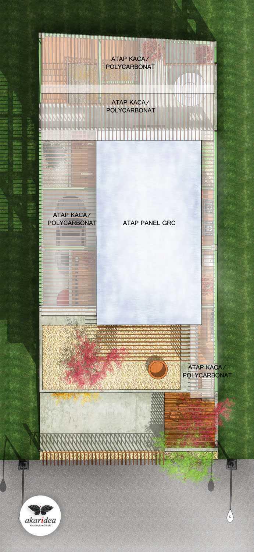 Antoni Winata Sidoarjo House Sidoarjo Sidoarjo Roof Plan  23277
