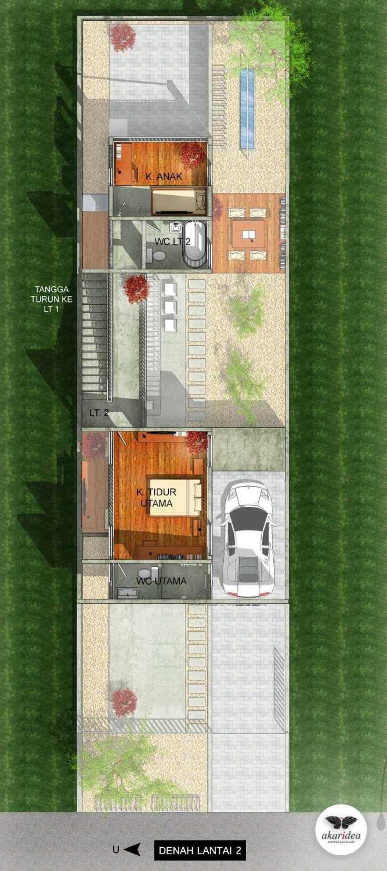 Antoni Winata W - House East Jakarta East Jakarta 2Nd Floor Plan  23285