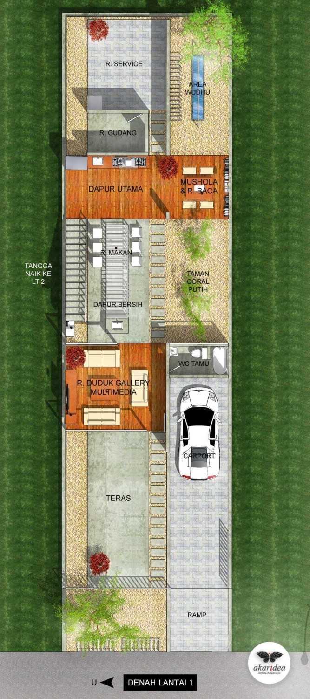Antoni Winata W - House East Jakarta East Jakarta 1St Floor Plan  23286