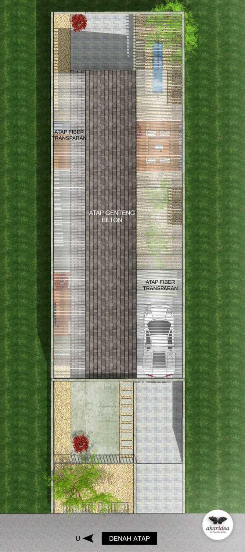 Antoni Winata W - House East Jakarta East Jakarta Roof Plan  23287