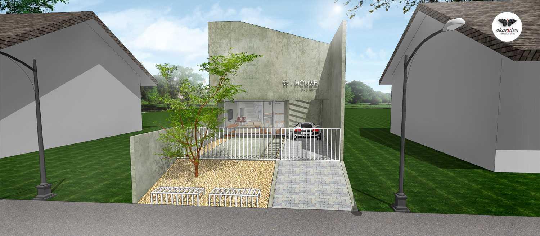 Antoni Winata W - House East Jakarta East Jakarta Front Facade Kontemporer,minimalis,tropis,wood,modern 23288
