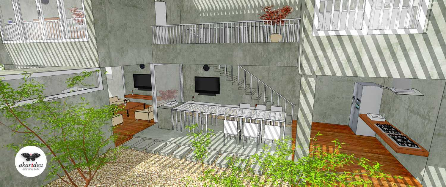 Antoni Winata W - House East Jakarta East Jakarta Dining & Kitchen Area Kontemporer,minimalis,tropis,wood,modern 23294