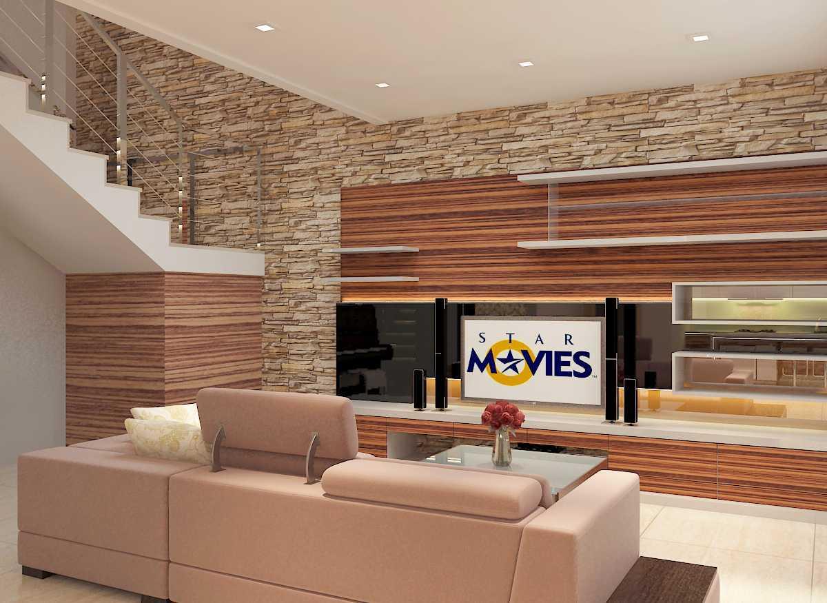Donny Steven Massie Renovation House Cibubur Cibubur Living-Area-Lt-1B Modern 22447