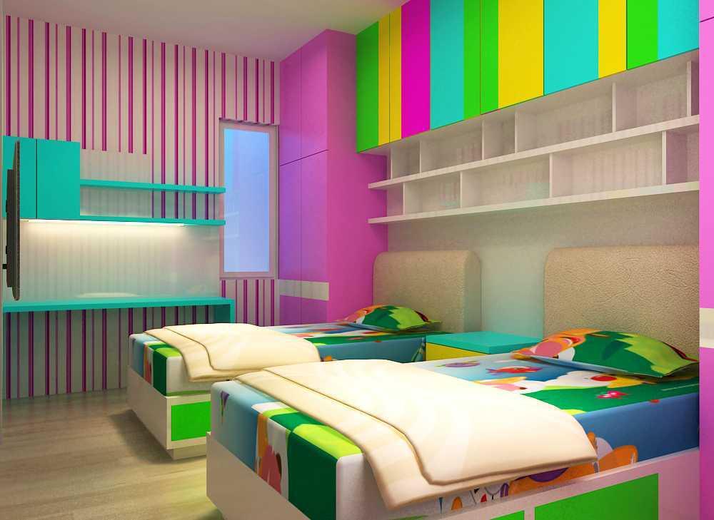 Foto inspirasi ide desain kamar tidur anak minimalis Cam-4a oleh Donny Steven Massie di Arsitag