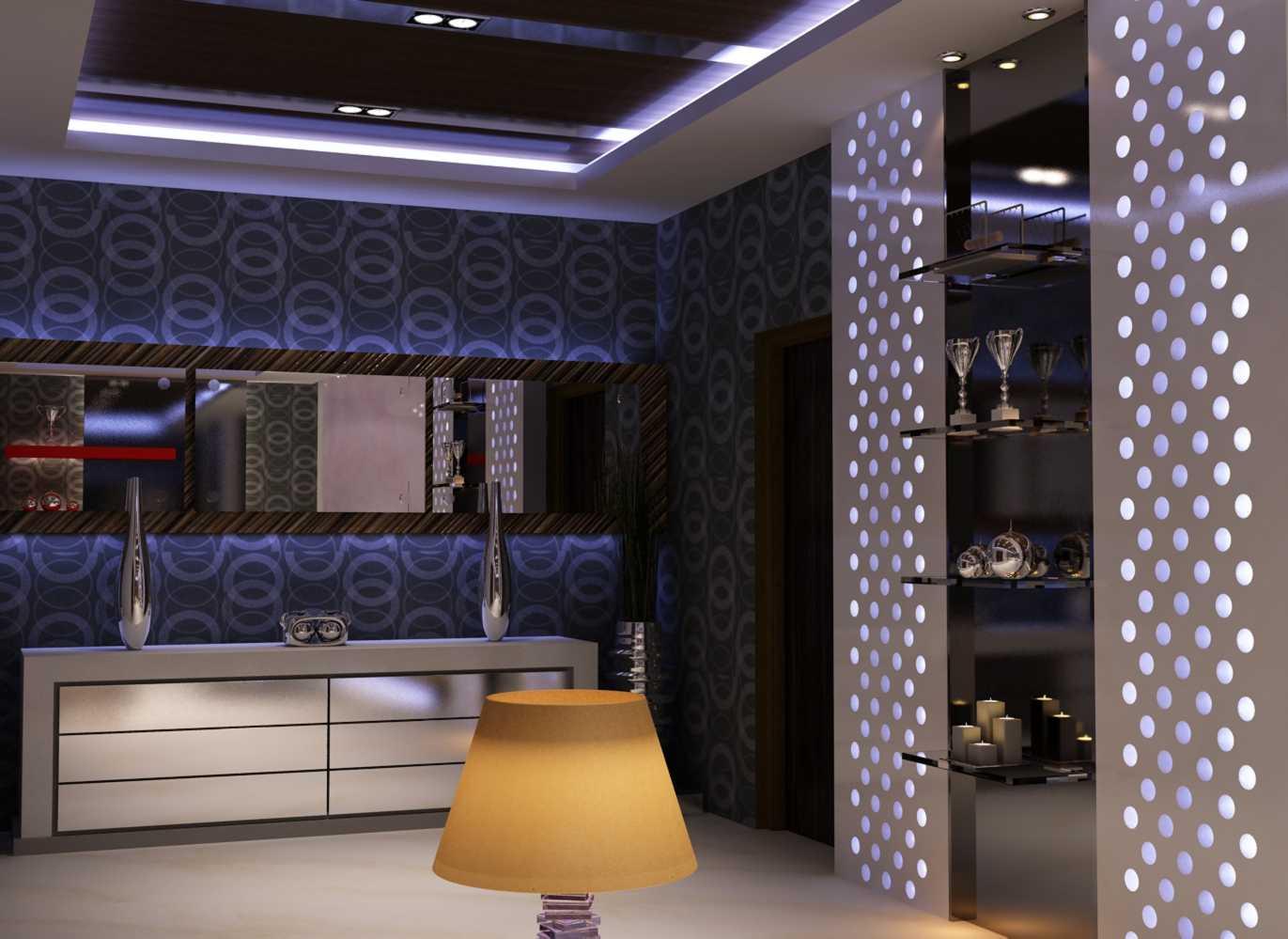 Foto inspirasi ide desain koridor dan lorong klasik Foyer-5 oleh Donny Steven Massie di Arsitag