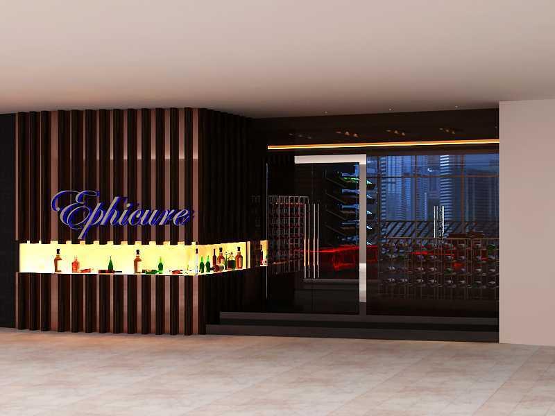 Donny Steven Massie The Wine Lounge Sudirman - Jakarta Sudirman - Jakarta Front View Minimalis 23468