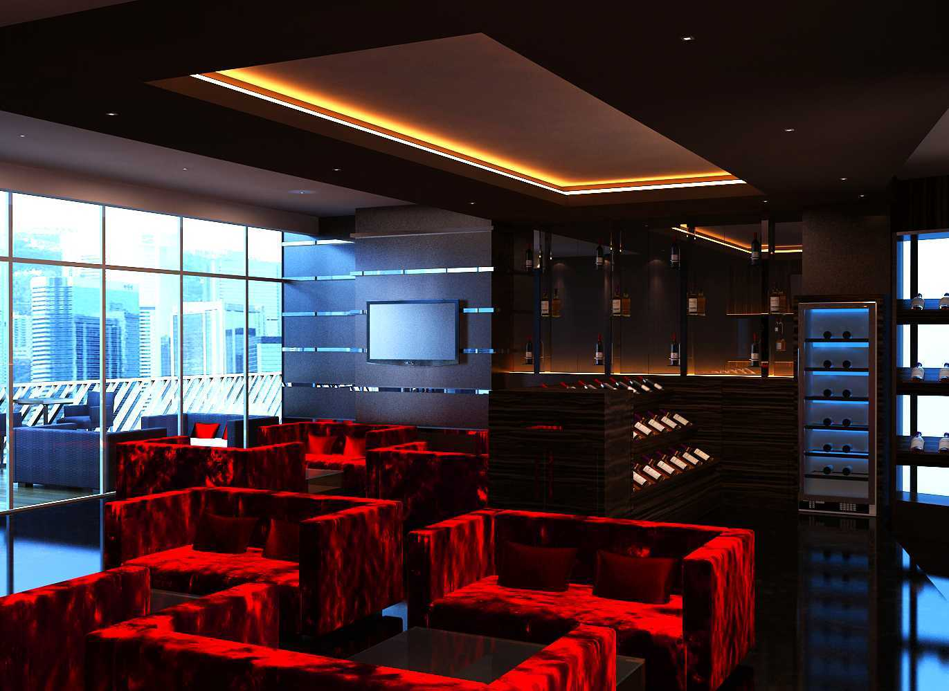 Donny Steven Massie The Wine Lounge Sudirman - Jakarta Sudirman - Jakarta Seating Area Modern 23469