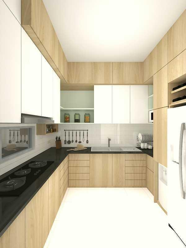 Segitiga Studio Rumah Lj Jakarta Jakarta Kitchen  22506