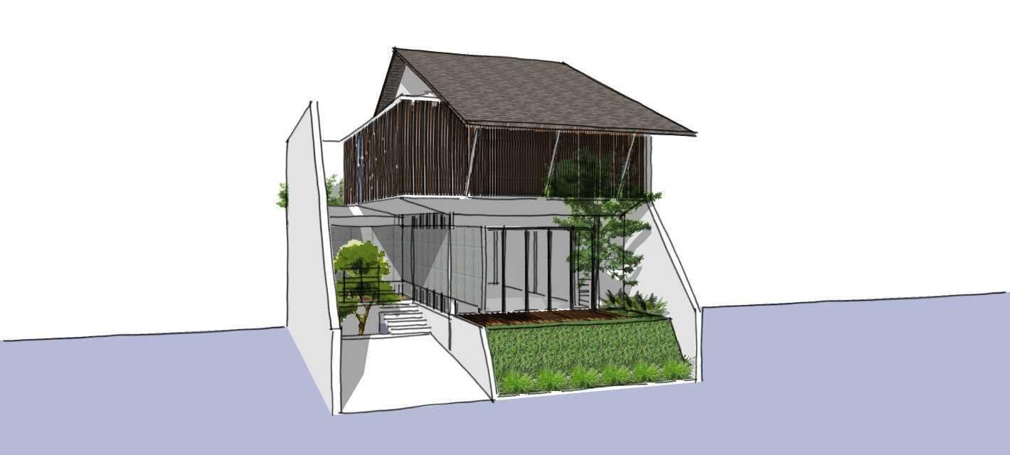 Segitiga Studio Rumah K Jakarta Jakarta Side View  22511