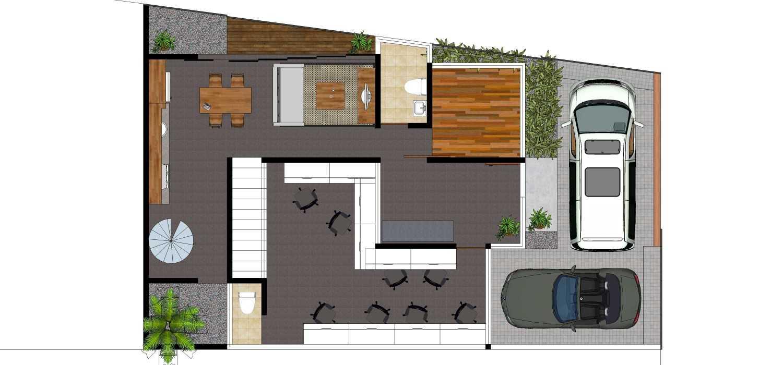 Dmnt Architects Mutiara House Bekasi, West Java, Indonesia Bekasi, West Java, Indonesia 1St Floor Plan  29006
