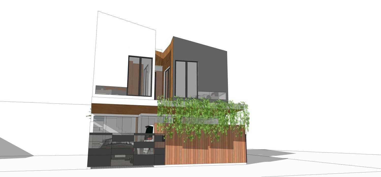 Dmnt Architects Mutiara House Bekasi, West Java, Indonesia Bekasi, West Java, Indonesia Front View  29011